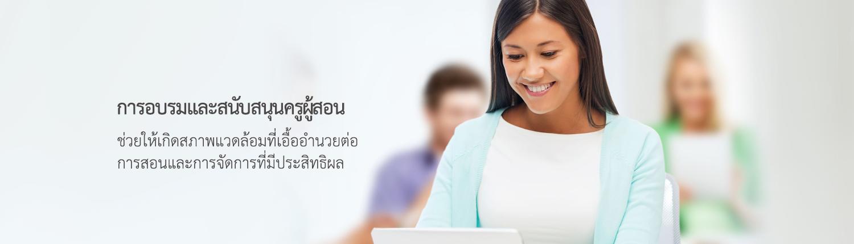 teaching training banner